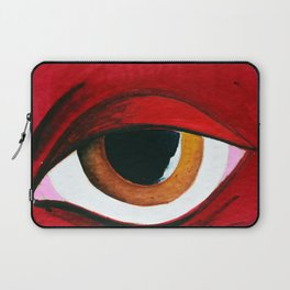 Red woman Laptop Sleeve