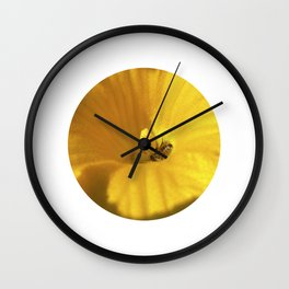 pumpkin bloom II Wall Clock