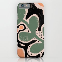 KEEP IT GREEN iPhone Case