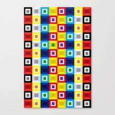 Squares Pattern Canvas Print