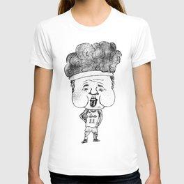 Basketball player Girdi rolls like a stone (JPEG) T-shirt