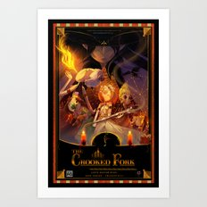 The Crooked Fork (promo poster) Art Print
