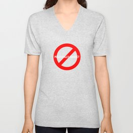 NOT POLITICALLY CORRECT Unisex V-Neck