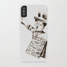 the POPO' paperboy iPhone X Slim Case