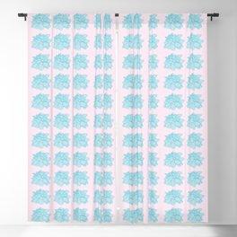 Cute Succulent Plant Pattern Blackout Curtain