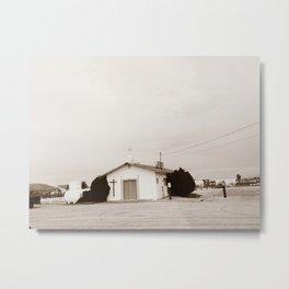 CHURCH (VINTAGE) Metal Print