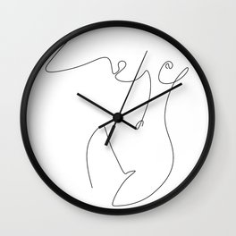 Curve Wall Clock