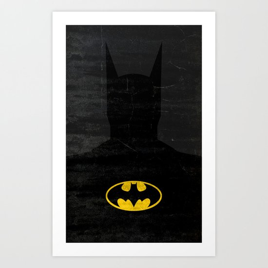 The Bat Art Print