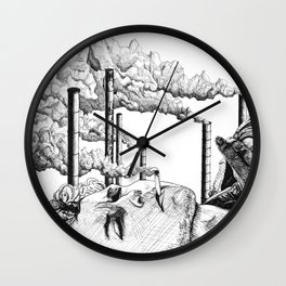 We are what we create Wall Clock