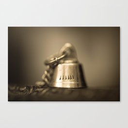 Ding dong Canvas Print