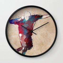 shot put #athletics #sport Wall Clock