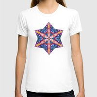 sacred geometry T-shirts featuring Sacred Geometry StarFlake Mandala by Jam.