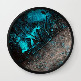 Infected - Abstract Painting Wall Clock