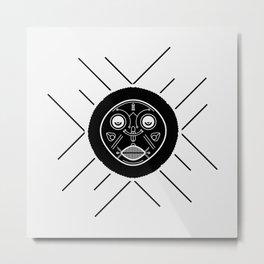 african sun god Metal Print