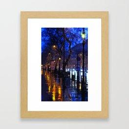 Lights up the Night Framed Art Print