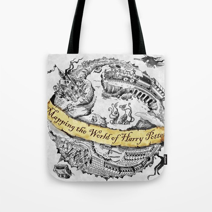 Harry's Map Tote Bag