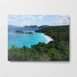 Caribbean Virgin Islands Metal Print