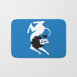 Dancing Beasts: Lion Bath Mat