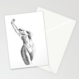 A Frame In Time (Neverending Line) Stationery Cards