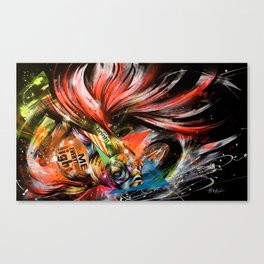 'Hikaritokage' by Taka Sudo Canvas Print