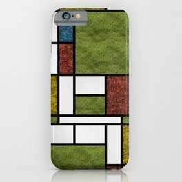 Mondrian in a Snake-Style iPhone Case