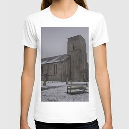 Dunkirk Church In Winter T-shirt