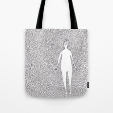 Some kind of nature inspired by Björk's music. Part 1. Tote Bag