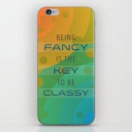 FancyKey iPhone Skin