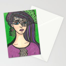 Girl with Veil Stationery Cards