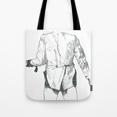 Gun Down Tote Bag