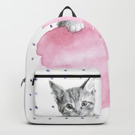 Cotton Candy Kitten Backpack