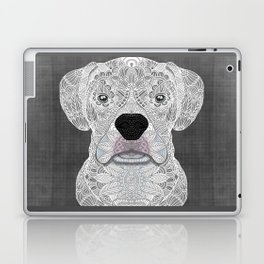 White Boxer Laptop & iPad Skin
