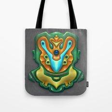 Summer Totem Green Tote Bag