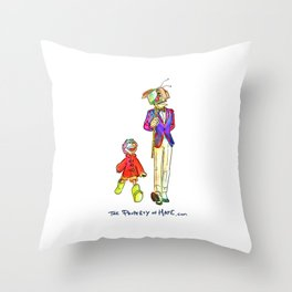 TPoH: Where are we going? Throw Pillow