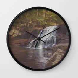 Wadsworth Falls Wall Clock