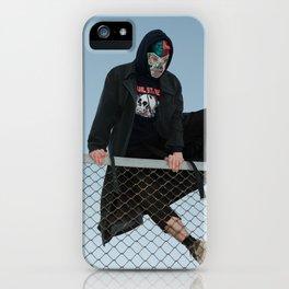 Hopping Fences iPhone Case
