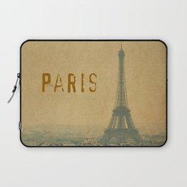 Paris, je t'aime... Laptop Sleeve
