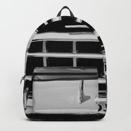 Rambler Black and White Backpack