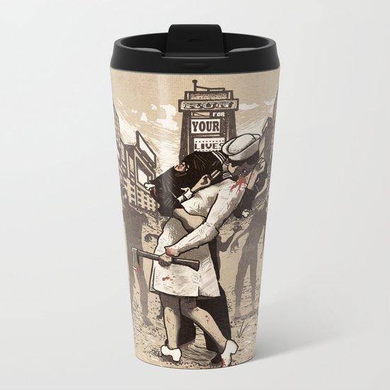 Zombies Metal Travel Mug