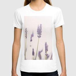 a purple haze of lavender photograph T-shirt