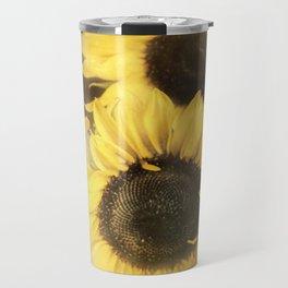 Sunshine With Petals Travel Mug