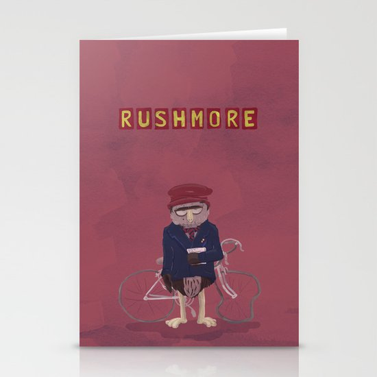 more of a rush Stationery Cards