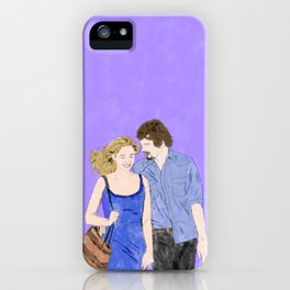 Before Midnight - Watercolor iPhone Case