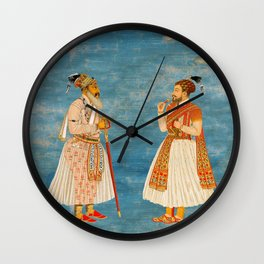 Before Hipsters Wall Clock