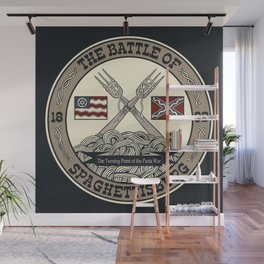 Battle of Spaghettisburg Wall Mural
