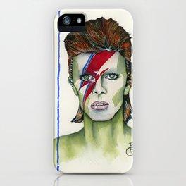 Ziggy Stardust Tribute iPhone Case