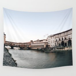 Ponte Vecchio in Florence Wall Tapestry