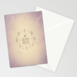 My Creative Process Stationery Cards
