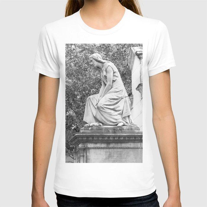 female statue T-shirt