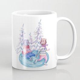 Clumsy Bear Coffee Mug